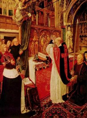 Die Messe des Hl. Ägidius National Gallery