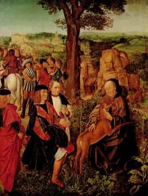 Hl. Ägidius und die Hindin National Gallery