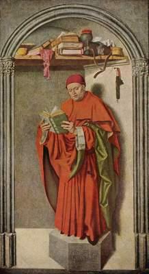 Verkündigungsaltar, rechter Flügel, Innenseite: Prophet Jeremias Musée Royaux des Beaux Arts