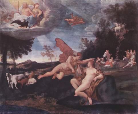 Merkur und Apoll Galleria Nazionale, Palazzo Barberini