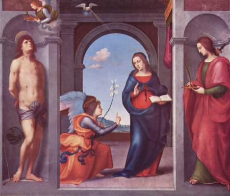 Verkündigung an Maria Alte Pinakothek