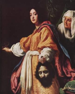 Judith mit dem Haupt des Holofernes Galleria Pitti