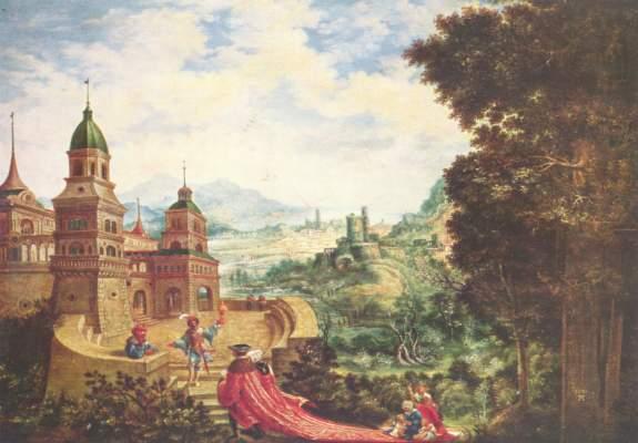 Der Hoffart sitzt der Bettel auf der Schleppe Gemäldegalerie