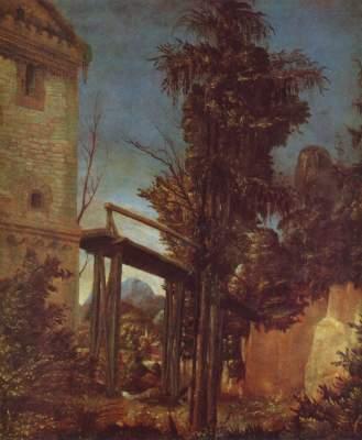 Landschaft mit einem Steg National Gallery