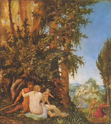Landschaft mit Satyrfamilie Gemäldegalerie