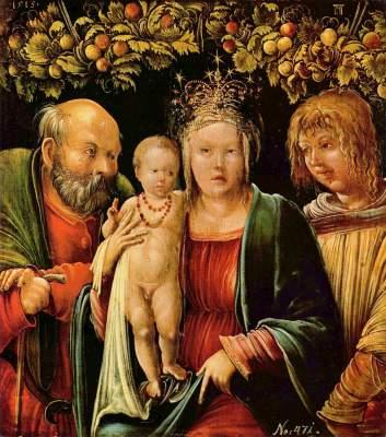 Madonna zwischen Joseph und dem Evangelisten Johannes Kunsthistorisches Museum