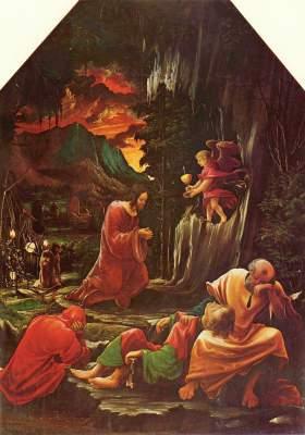 Sebastiansaltar: Christus am Ölberg Augustiner Chorherrenstift