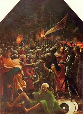 Sebastiansaltar: Die Gefangennahme Christi Augustiner Chorherrenstift