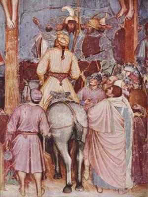 Kreuzigung Christi, Ausschnitt: Der Hauptmann unter dem Kreuz S. Antonio