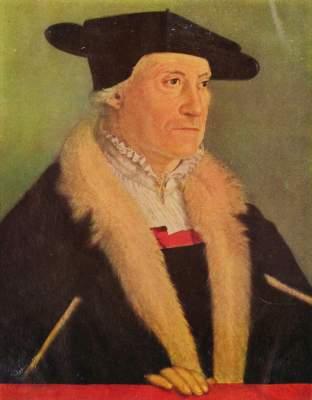 Bildnis des Kosmographen Sebastian Münzer Deutsches Museum