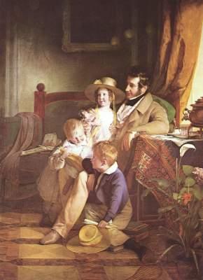 Rudolf von Arthaber und seine Kinder Österreichische Galerie