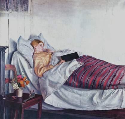 Das kranke Mädchen Statens Museum for Kunst