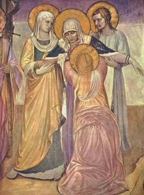 Kreuzigung: Die Marien (Ausschnitt) Museo di San Marco