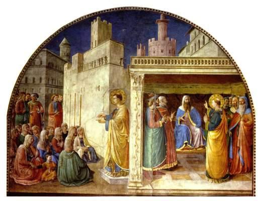 Szenen aus dem Leben der Heiligen Stephanus und Laurentius Vatikan, Musei Vaticani, Cappella Niccolina