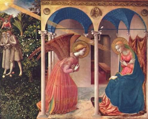 Verkündigung an Maria Museo del Prado