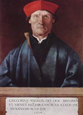 Bildnis des Brixener Domherrn Gregor Angrer Tiroler Landesmuseum Ferdinandeum