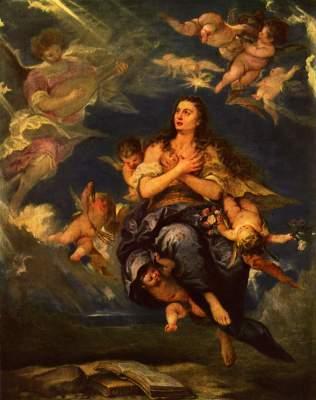 Verzückung der Hl. Magdalena Museo del Prado