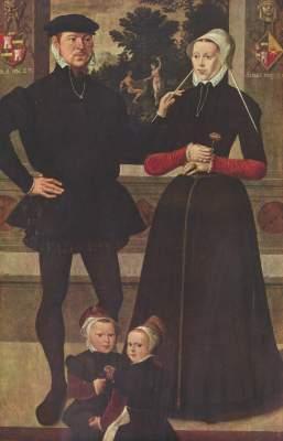 Porträt der Familie van Gindertaelen Koninklijk Museum voor Schone Kunsten