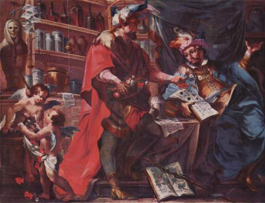 Hll. Cosmas und Damian als Ärzte Studienkirche Maria Himmelfahrt