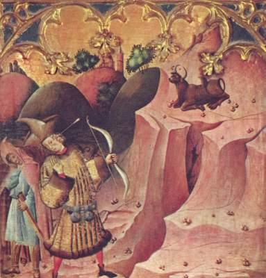 Der verwundete Gargano (Teil einer Altarwand, Ausschnitt) Museo del Prado