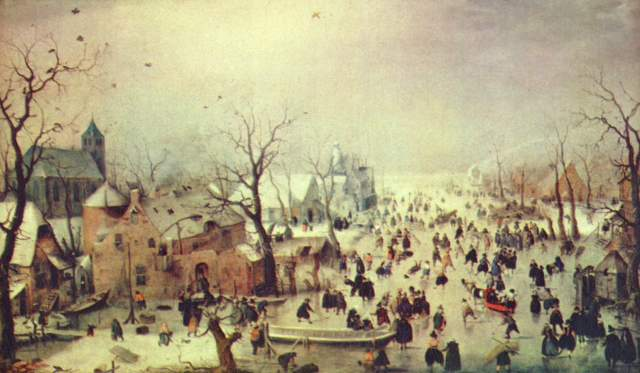 Winterlandschaft Rijksmuseum