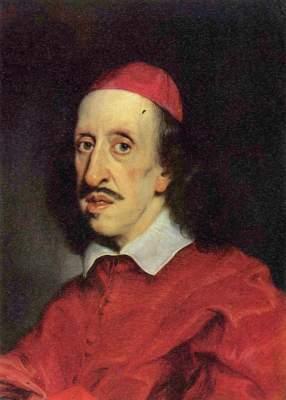 Porträt des Kardinals Leopoldo Galleria degli Uffizi
