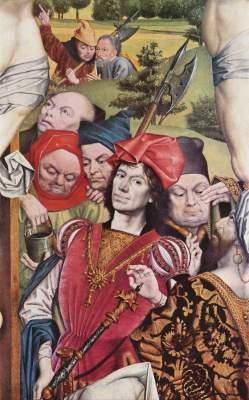 Der Hauptmann unter dem Kreuz (Fragment) Slg. Thyssen-Bornemisza