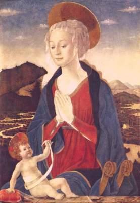 Maria mit dem Kind Musée National du Louvre