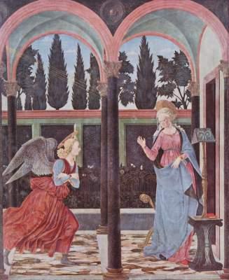 Verkündigung an Maria Galleria degli Uffizi