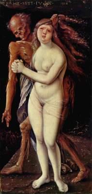 Der Tod und das Mädchen (Der Tod und die Wollust) Kunstmuseum