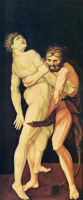 Herkules und Antäus Gemäldegalerie
