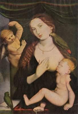 Madonna mit den Papagaeien Germanisches Nationalmuseum