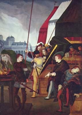 Mucius Scävola Gemäldegalerie