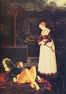 Pyramus und Thisbe Gemäldegalerie