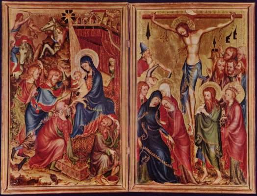 Anbetung der Könige / Kreuzigung Christi Museo Nazionale, Palazzo del Bargello