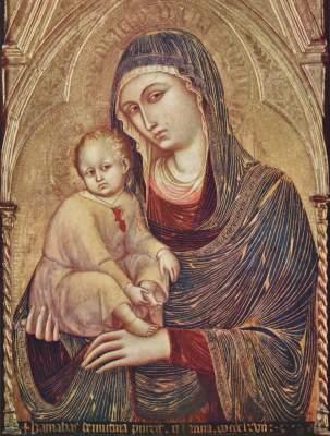 Maria mit Kind Städelsches Kunstinstitut