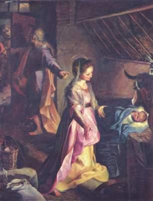 Geburt Christi Museo del Prado