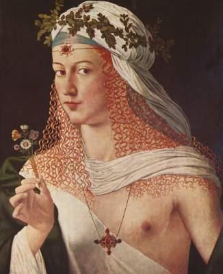 Kurtisane (Lucrezia Borgia?) Städelsches Kunstinstitut