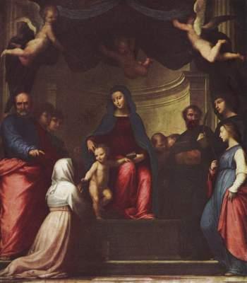 Vermählung der Hl. Katharina Musée National du Louvre
