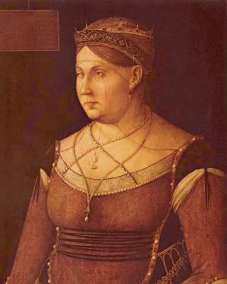Caterina Cornaro, Königin von Zypern Magyar Szépmüvészeti Múzeum