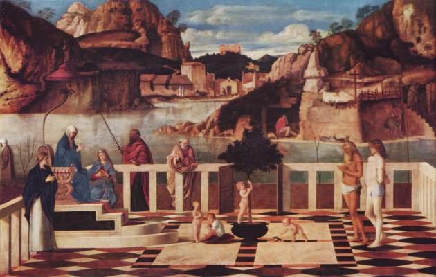 Allegorie des Fegefeuers (Heilige Allegorie) Galleria degli Uffizi