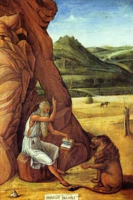 Hieronymus in der Wüste University of Birmingham, Barber Institute of Fine Art