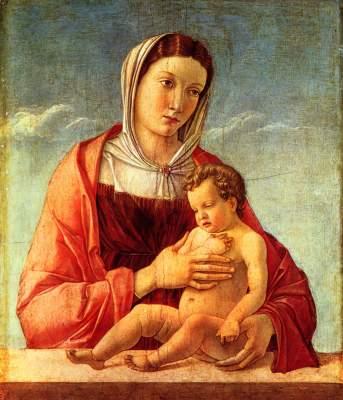 Madonna mit Kind Museo Correr