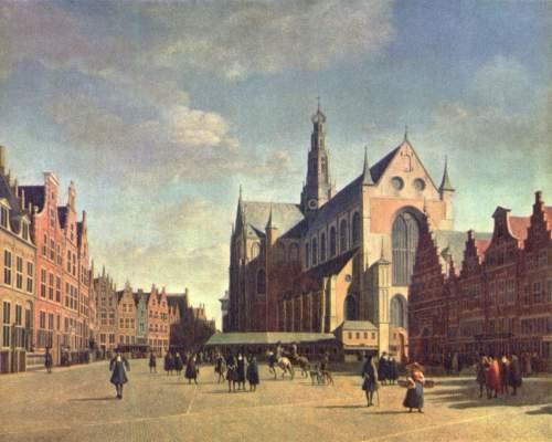 Der Große Markt in Haarlem Frans-Hals-Museum