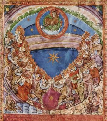 Anbetung des Lammes Bayerische Staatsbibliothek