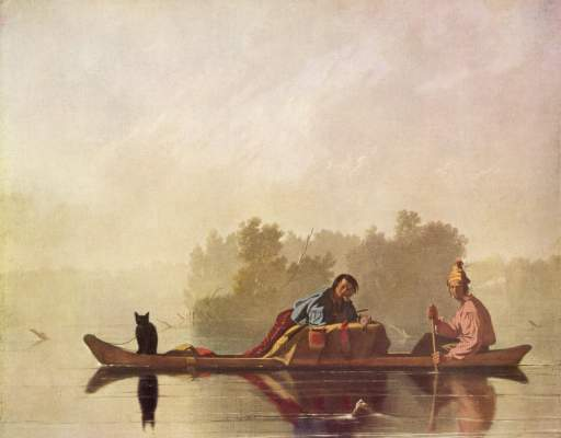 Pelzhändler auf dem Missouri Metropolitan Museum of Art