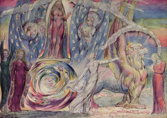 Dante begegnet Beatrice im Paradies Tate Gallery