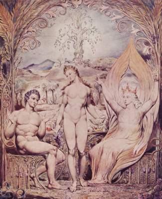 Erzengel Raphael mit Adam und Eva Museum of Fine Arts