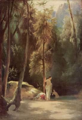 Badende im Park von Terni (Badende Frauen im Walde) Kunstmuseum