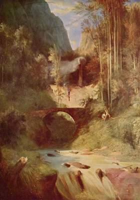 Die Waldschlucht Staatliche Kunstsammlungen